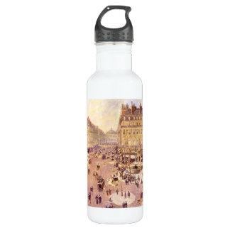Place du Theatre Francais, Soleil by Pissaro 24oz Water Bottle