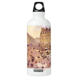 Place du Theatre Francais, Soleil by Pissaro SIGG Traveler 0.6L Water Bottle