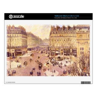 Place du Theatre Francais, Soleil by Pissaro Netbook Decals