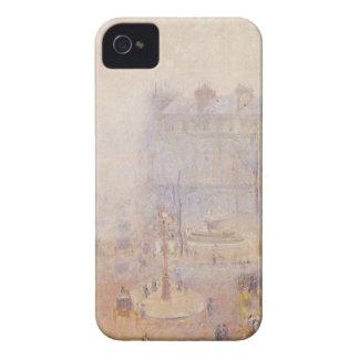 Place du Theatre Francais, tiempo de niebla por Funda Para iPhone 4