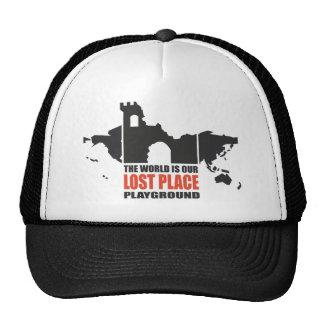 Place echar suertes gorras de camionero