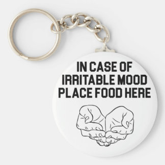 Place Food Here Keychain
