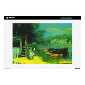 Place for Bading by Pierre Renoir Decals For Laptops