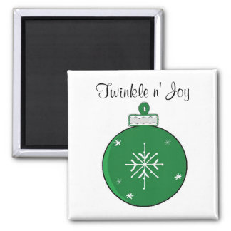 Place Holder 2 Inch Square Magnet