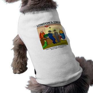 Place Is Bugged Funny Police Gifts & Tees Dog T-shirt