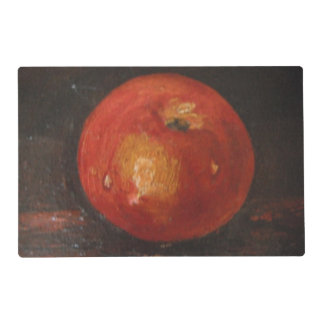 Place Mat Ann Hayes Painting Apple