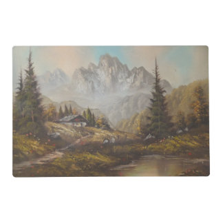 Place Mat Ann Hayes Painting Bavarian Dream