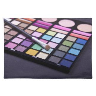 Place Mat - Makeup Eyeshadow Cloth Placemat