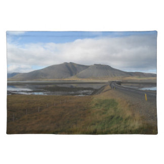 Place-mat (Table-mat) With Icelandic Scenery Cloth Placemat