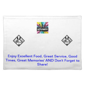 Place Mats for any Event & Occasions