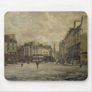 Place Maubert, Paris, 1888 Mouse Pad
