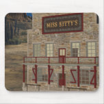 Place Mousepad de Srta. Kitty's del oeste salvaje Tapetes De Ratones