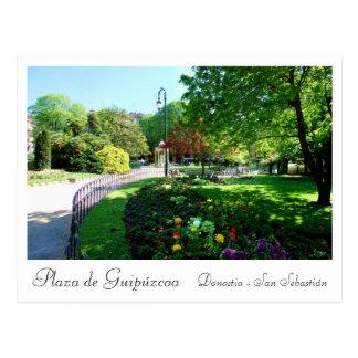 Place of Guip'uzcoa in Donostia - San Sebastian Postcard