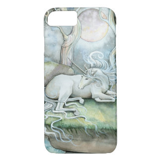Place of Peace Unicorn Fantasy Art iPhone 8/7 Case