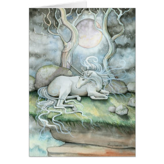 Place of Peace Unicorn Greeting Card
