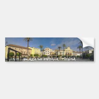 Place of Spain - MERIDA Bumper Sticker
