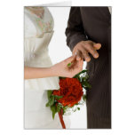 Place Ring On Finger Greeting Cards