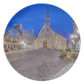 Place Royale at dawn Melamine Plate