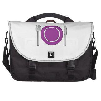 Place Setting Laptop Commuter Bag