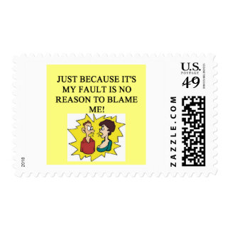 place the blame proverb stamps