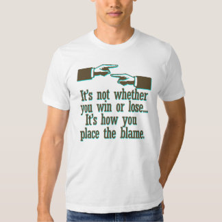 Place The Blame T-shirt