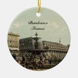 Place Tourny, Bordeaux, France Christmas Ornament