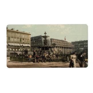 Place Tourny, Bordeaux, France Label