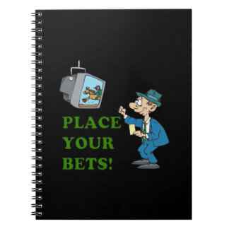 Place Your Bets Note Book