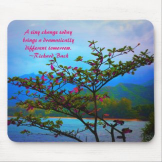 Place Your Favorite Quote: Nature Inspired Mouse Pad