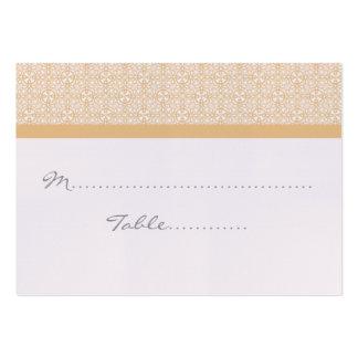 Placecard que se casa elegante refinado tarjetas de visita grandes