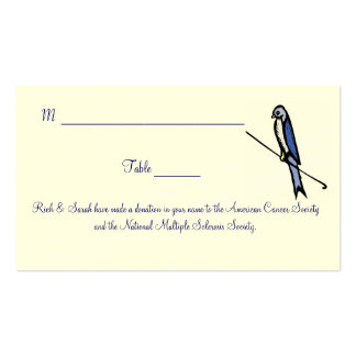 Placecards Business Card
