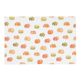 Placemat 12''x18'' with pumpkins