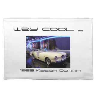 Placemat 1953 Kaiser Darrin classic car