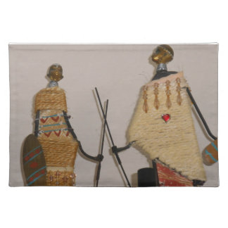 PLACEMAT - AFRICAN DOLLS CLOTH PLACEMAT