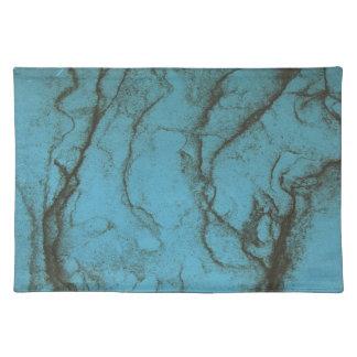 Placemat azul manteles individuales