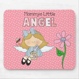 Placemat Baby Little Girl Mommy's Angel Mousepad Mousepad