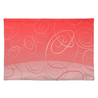 Placemat background fantacy red