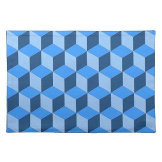 Placemat - Block illusion Cloth Place Mat