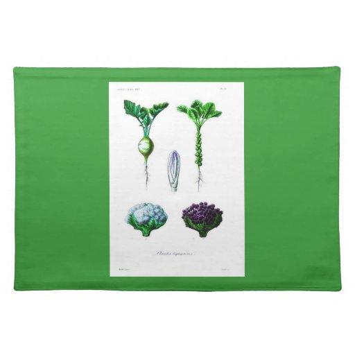 Placemat-Botanicals-Coliflor Mantel Individual