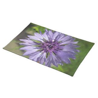 Placemat - botón de la lila/del soltero púrpura manteles