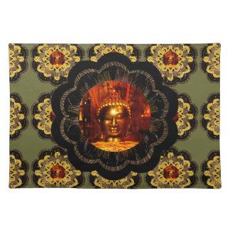 placemat   Buddha mandala pattern
