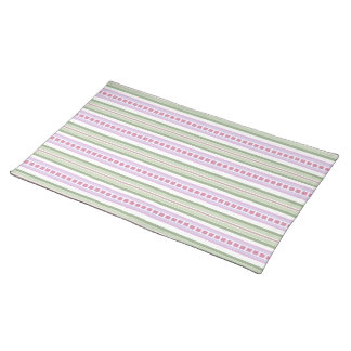 Placemat - Candy Striped for Phlox Cloth Place Mat