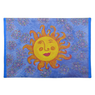 Placemat- Celestial Solstice Cloth Placemat