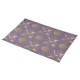 Placemat con el ornamento decorativo mantel individual