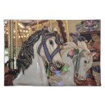 Placemat de la impresión de los caballos del mantel individual