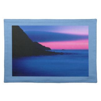 placemat de la puesta del sol manteles individuales
