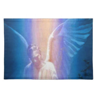 Placemat del ángel de guarda manteles