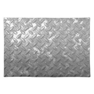 Placemat del paño de la placa de acero mantel