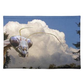 ~ Placemat del predicador y de la nube Mantel Individual