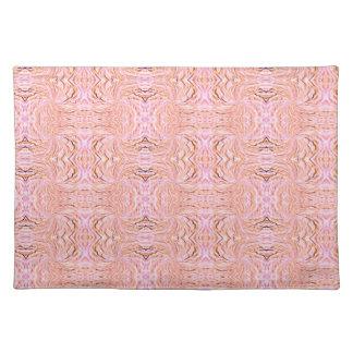 Placemat - diseño decorativo rosado manteles individuales